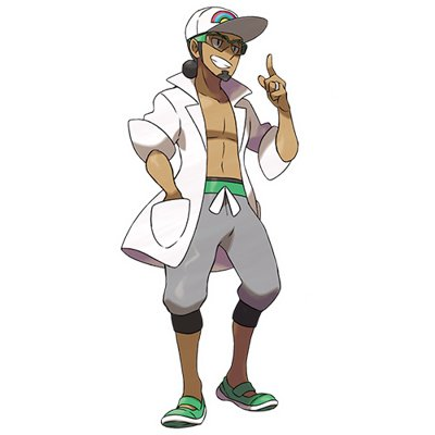 Pokemon Sun and Moon Professor Kukui
