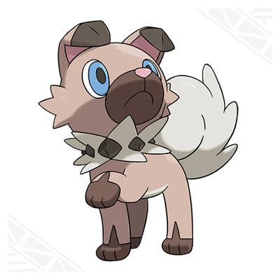 Pokemon Sun Moon Rockruff