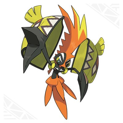 Pokemon Sun and Moon Tapu Koko