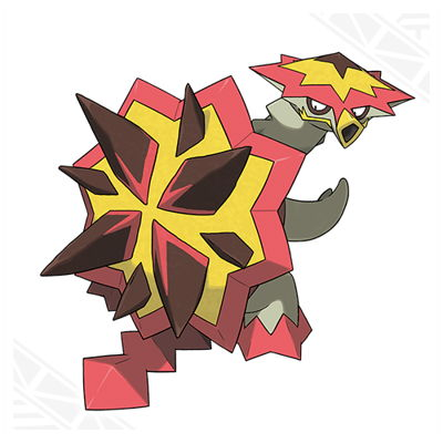 Pokemon Sun and Moon Turtonator