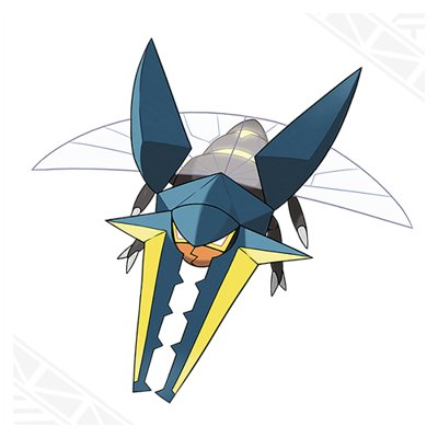 Pokemon Sun Moon Vikavolt