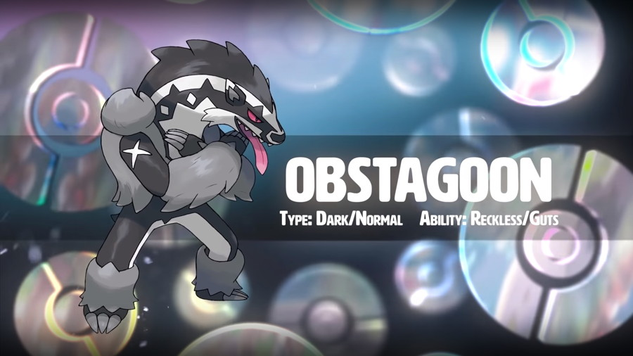 Pokemon Sword Shield Obstagoon