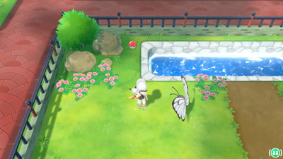 Let's Go Pikachu Eevee Screenshot