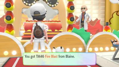Let's Go Pikachu Eevee Blaine