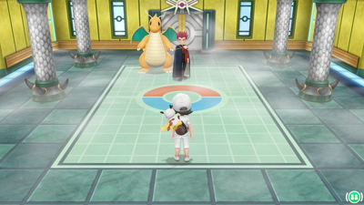 Let's Go Pikachu Eevee Elite Four Lance