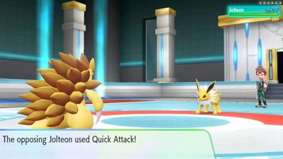 Let's Go Pikachu Eevee Elite Four Champion