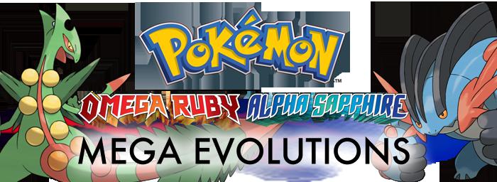 Pokemon Omega Ruby Alpha Sapphire Mega Stones