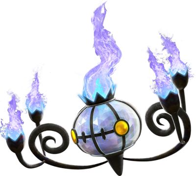 Pokken Tournament Chandelure