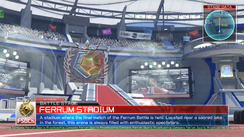 Pokken Tournament Ferrum Stadium