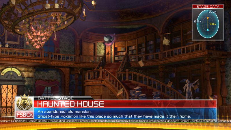 Pokken Tournament Haunted House