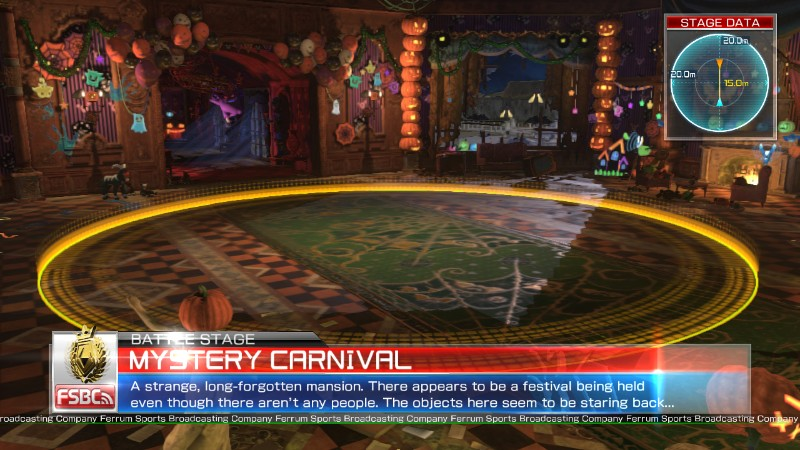 Pokken Tournament Mystery Carnival