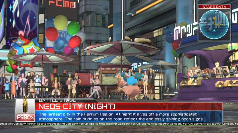 Pokken Tournament Neos City Night