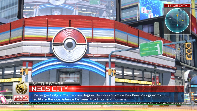 Pokken Tournament Neos City