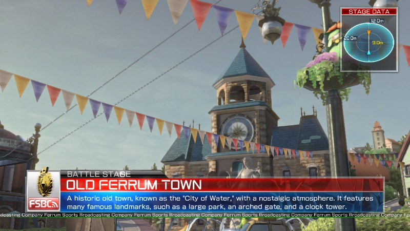 Pokken Tournament Old Ferrum Town