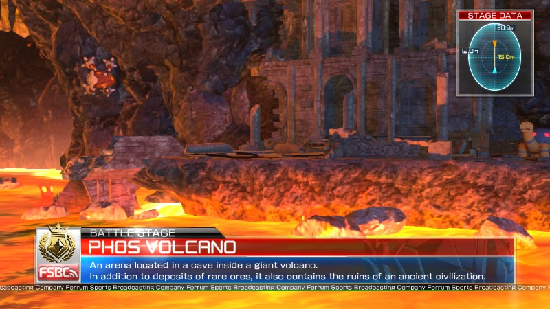 Pokken Tournament Phos Volcano