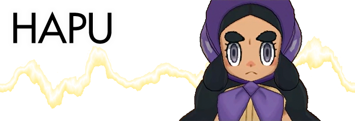 Hapu Pokemon Sun Moon