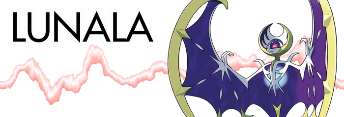 Pokemon Sun and Moon Lunala