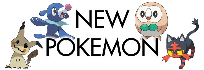 Sun Moon New Pokemon