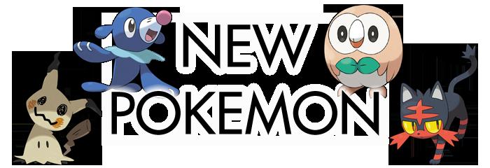 Sun Moon New Pokemon
