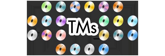 Sun Moon TMs