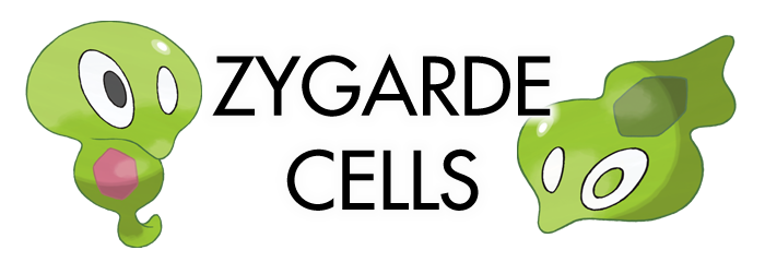Sun Moon Zygarde Cells